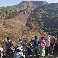 Myanmar Land Sliding