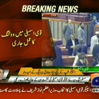 National Assembly Voting– Breaking News – Geo