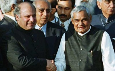 Nawaz Sharif And Vajpayee