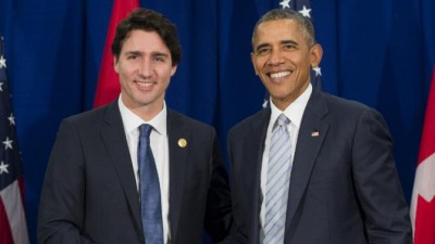 Obama and Canadian Prime Minister