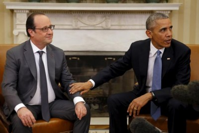 Obama Meets with France's President