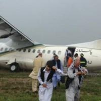 PIA Aircraft Crash Landed