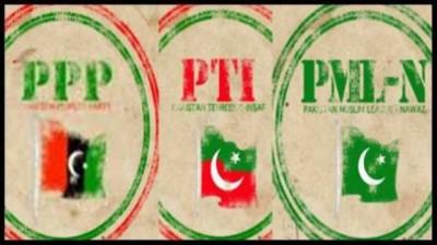 PPP PTI PML N