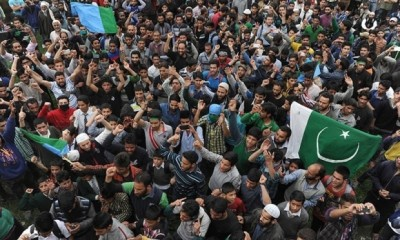 Pakistani Flags Waved Kashmiri