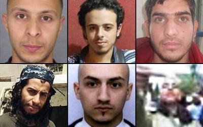 Paris Attack Terrorists