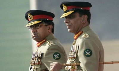 Pervez Musharraf And General Ashfaq Kayani