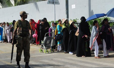 Polling Stations Army  Deployed