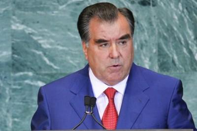 President of Tajikistan