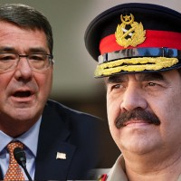 Raheel Sharif and Ashton Carter