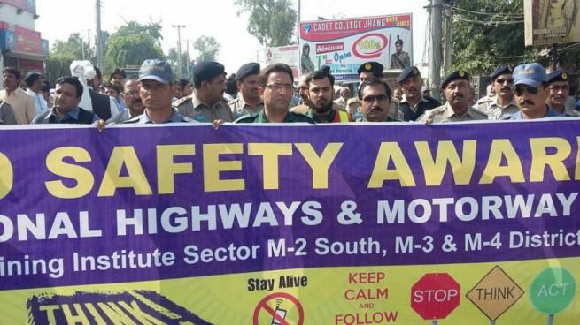 Road Safety Walk