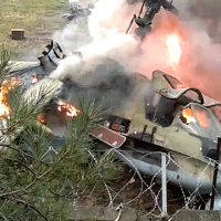 Russia Helicopters Destroyed