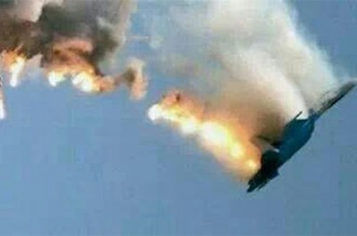 Russian jet 'Shot Down