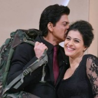 Shah Rukh Khan with Kajol