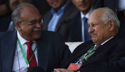 Shaharyar Khan And Najam sethi