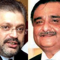 Sharjeel Memon and Dr. Asim Hussain