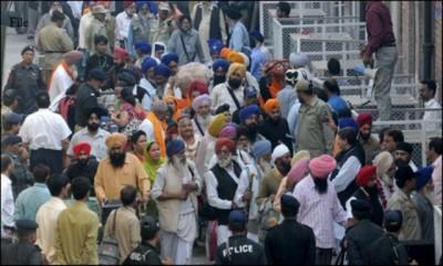 Sikh Yatries