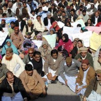 Teachers Association Protests
