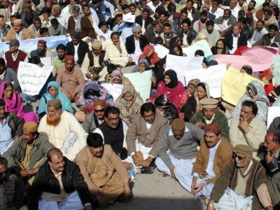 Teachers Association Protests