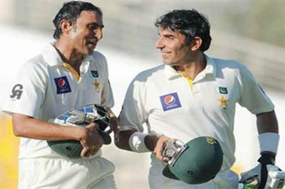 Younis Khan and Misbah ul Haq