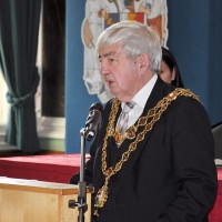 Lord Mayor of Birmingham cllr Ray Hassall