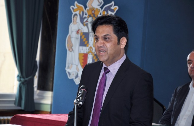 Former Lord Mayor of Birmingham cllr Shafique Shah