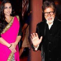 Amitabh Bachchan and Vidya balan