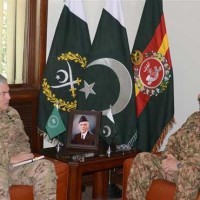 Army Chief And John F. Campbell Met