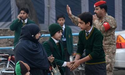 Army Public School Children