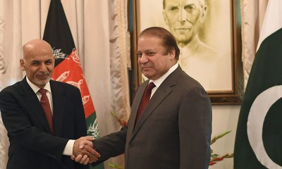 Ashraf Ghani and Nawaz Sharif