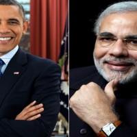 Barack Obama and Modi