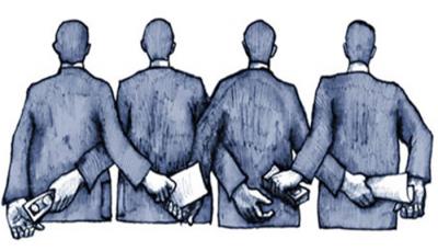 Corruption And Bribe.