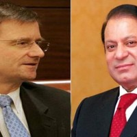 David Hale and Nawaz Sharif