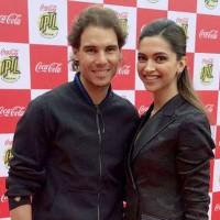 Deepika Padukone met Rafael Nadal