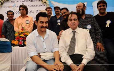 Dilip Kumar and Aamir Khan
