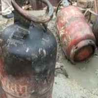 Gas Cylinder Explosion