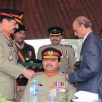 General Raheel Sharif visits Frontier Force Regiment