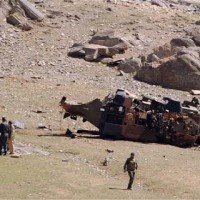 Helicopter Taliban Attack
