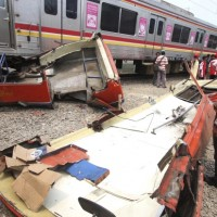 INDONESIA TRAIN ACCIDENT