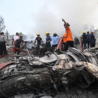 Indonesia Military Plane Crash