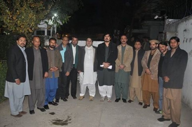 Insaf Youth Wing Meeting