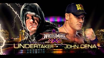 John Cena and Undertaker