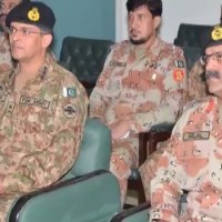 Karachi DG Rangers, Meeting