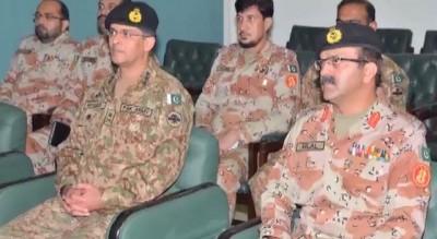Karachi DG Rangers, Meeting