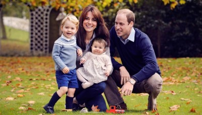 Kate and Prince William with Children