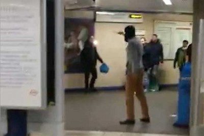 London Tube Station, Attack