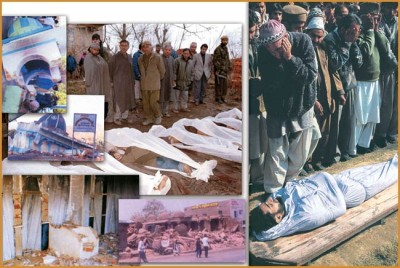 Massacre of Muslims in Kashmir