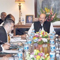 Meeting chaired by Chief Minister Sindh