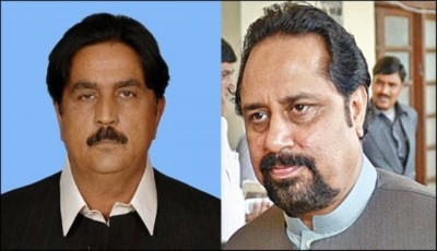 Mian Ateeq and Siddique Baloch