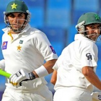 Misbahul Haq and Younis Khan