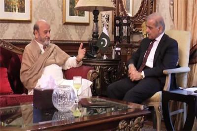 Mumtaz Bhutto and Shahbaz Sharif